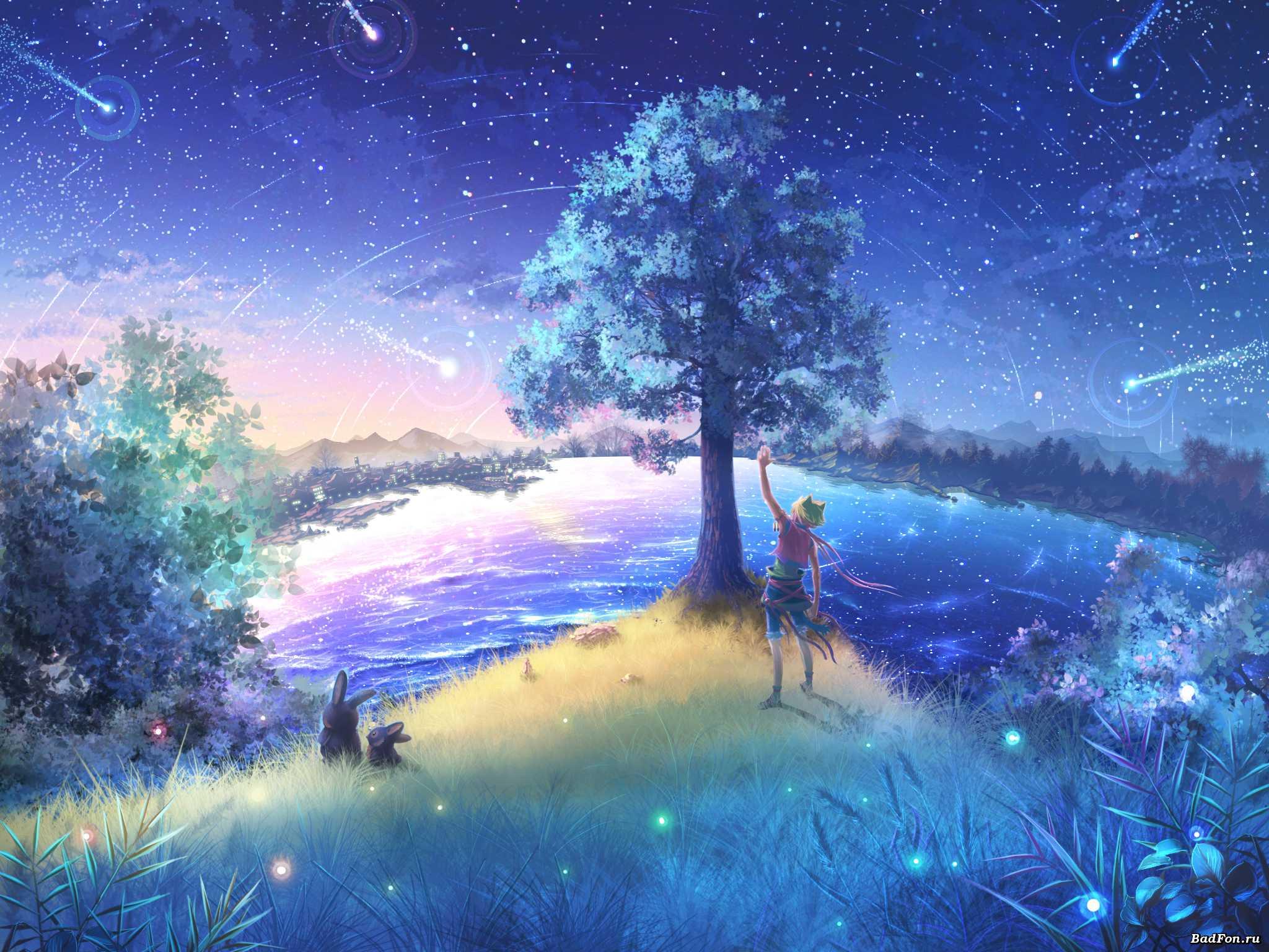 天上的星星不见了